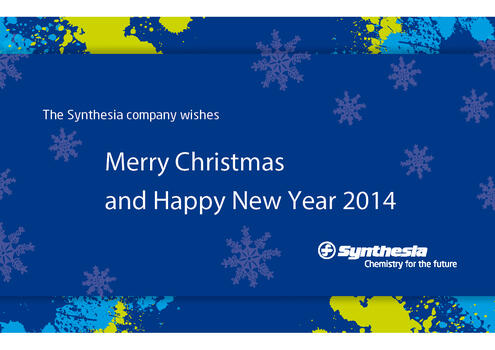 Merry Christmas and Happy New Year 2014 - Synthesia